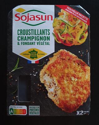 Croustillants champignons & fondant végetal - Produit - fr