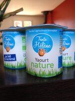 Yaourt nature au lait 1/2 écrémé - Produit - fr