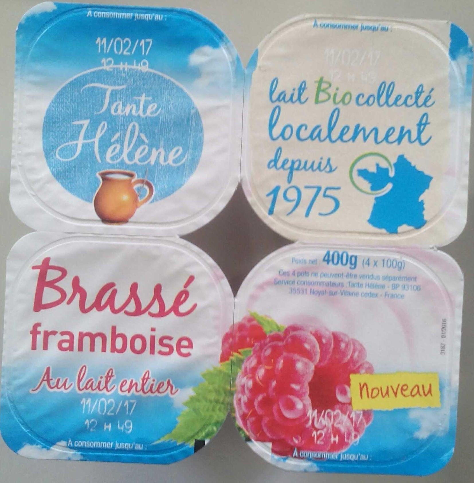 Brassé framboise Au lait entier - Produit - fr