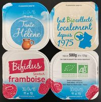 Yaourt Bifidus Framboise - Produit - fr