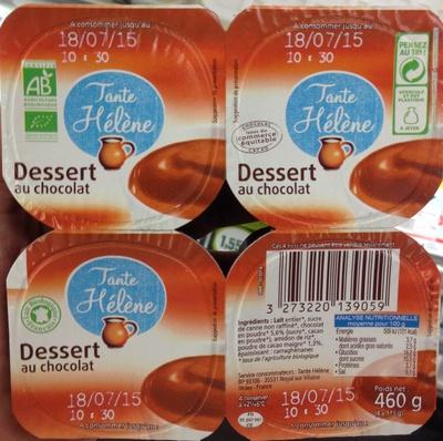 Dessert au chocolat - Produit - fr