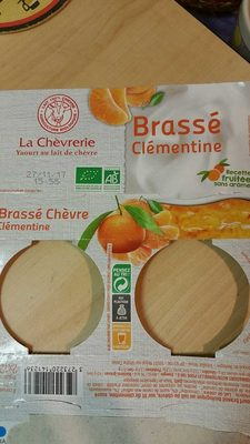 Brassé clémentine - Product