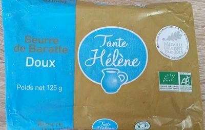 Beurre de Baratte Doux - Produit - fr