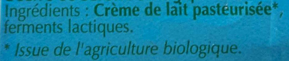 Beurre de Baratte Doux - Ingrédients - fr
