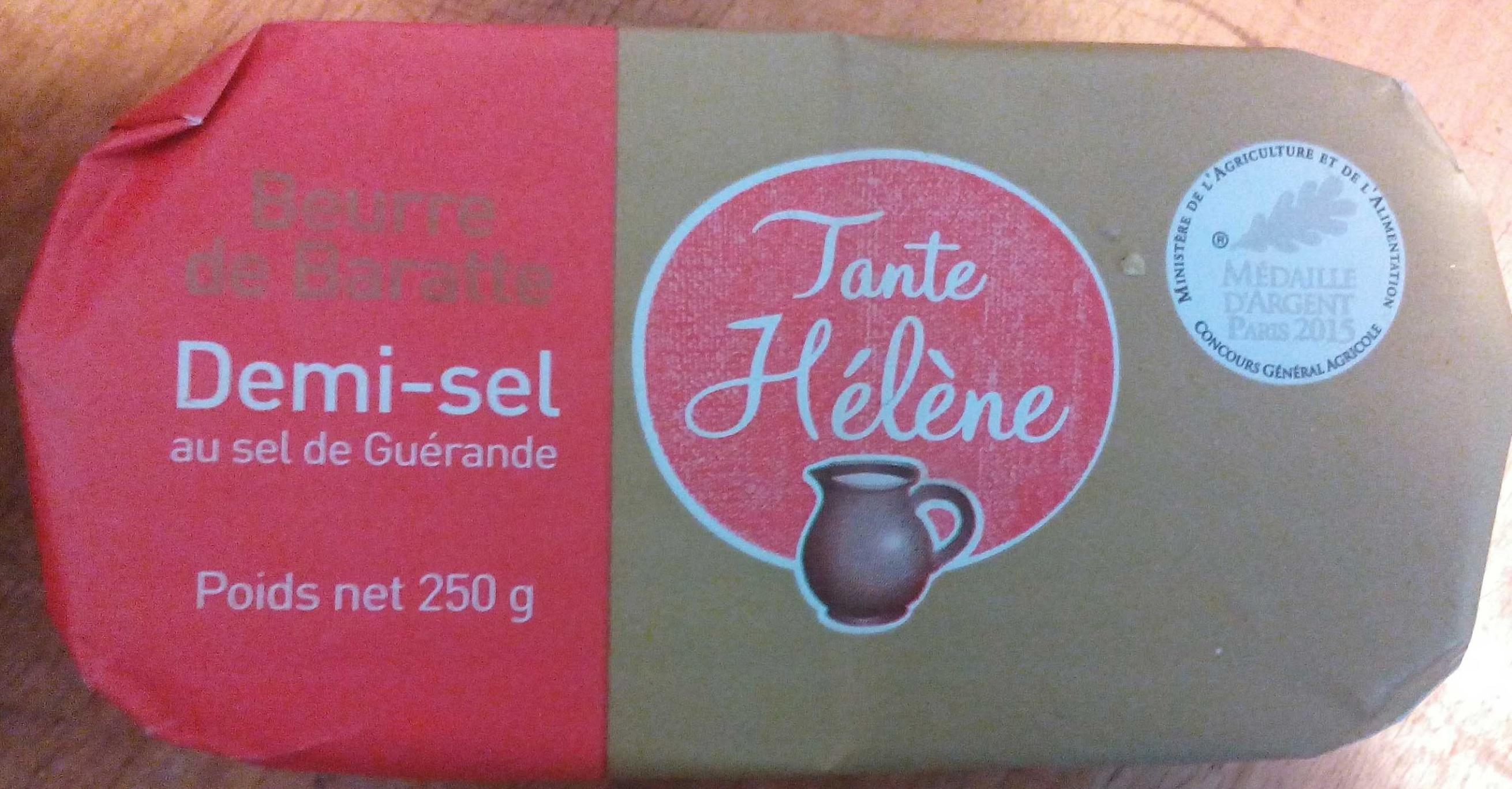Beurre de Baratte Demi Sel - Produit - fr