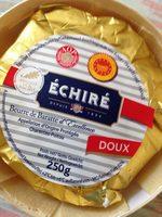 Beurre de Baratte Demi Sel - Informations nutritionnelles - fr
