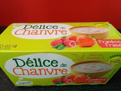 Délice de chanvre Framboise fraise - Produit