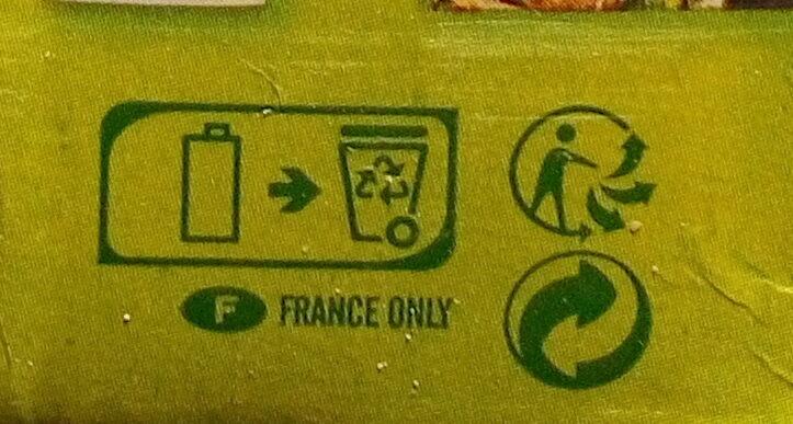 So soja Nature - Recyclinginstructies en / of verpakkingsinformatie - fr