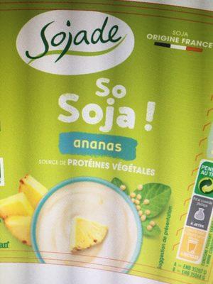 Sojade Ananas - Produit - fr