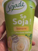 Spécialité au soja, Banane - Product