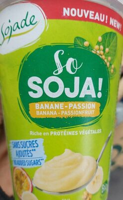 So soja banane passion - Product - fr