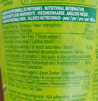 So soja banane passion - Nutrition facts - fr