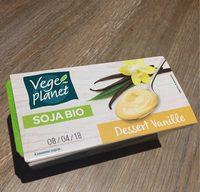 Soja bio dessert vanille - Product