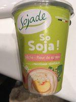 Spécialité au soja, Pêche Fleur de Sureau - Produit