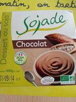 Dessert au soja, Chocolat - Produit - fr