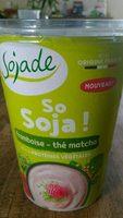 So Soja framboise thé matcha - Produit