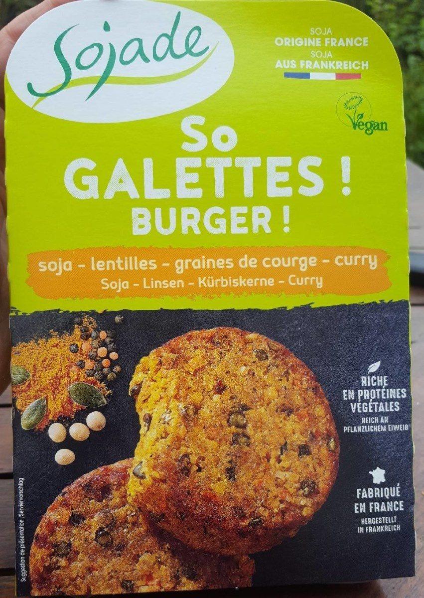 So Galettes ! Burger ! - Produit - fr