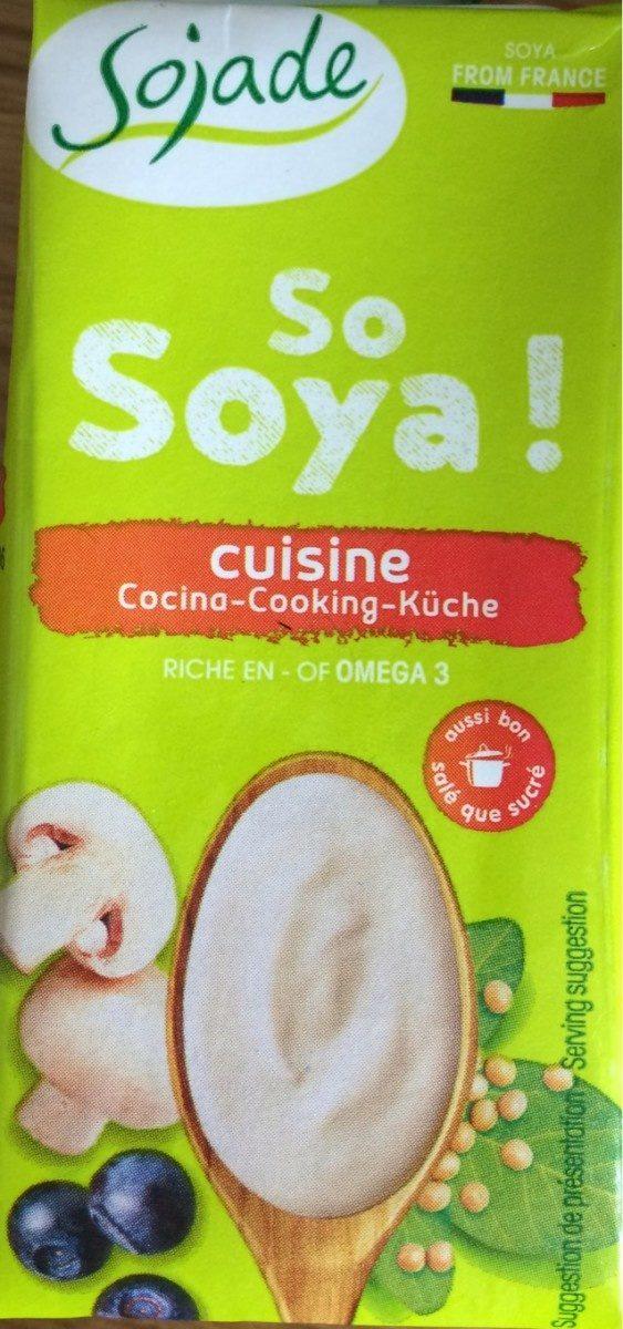 So Soya! Cuisine Riche en OMEGA3 - Product - fr