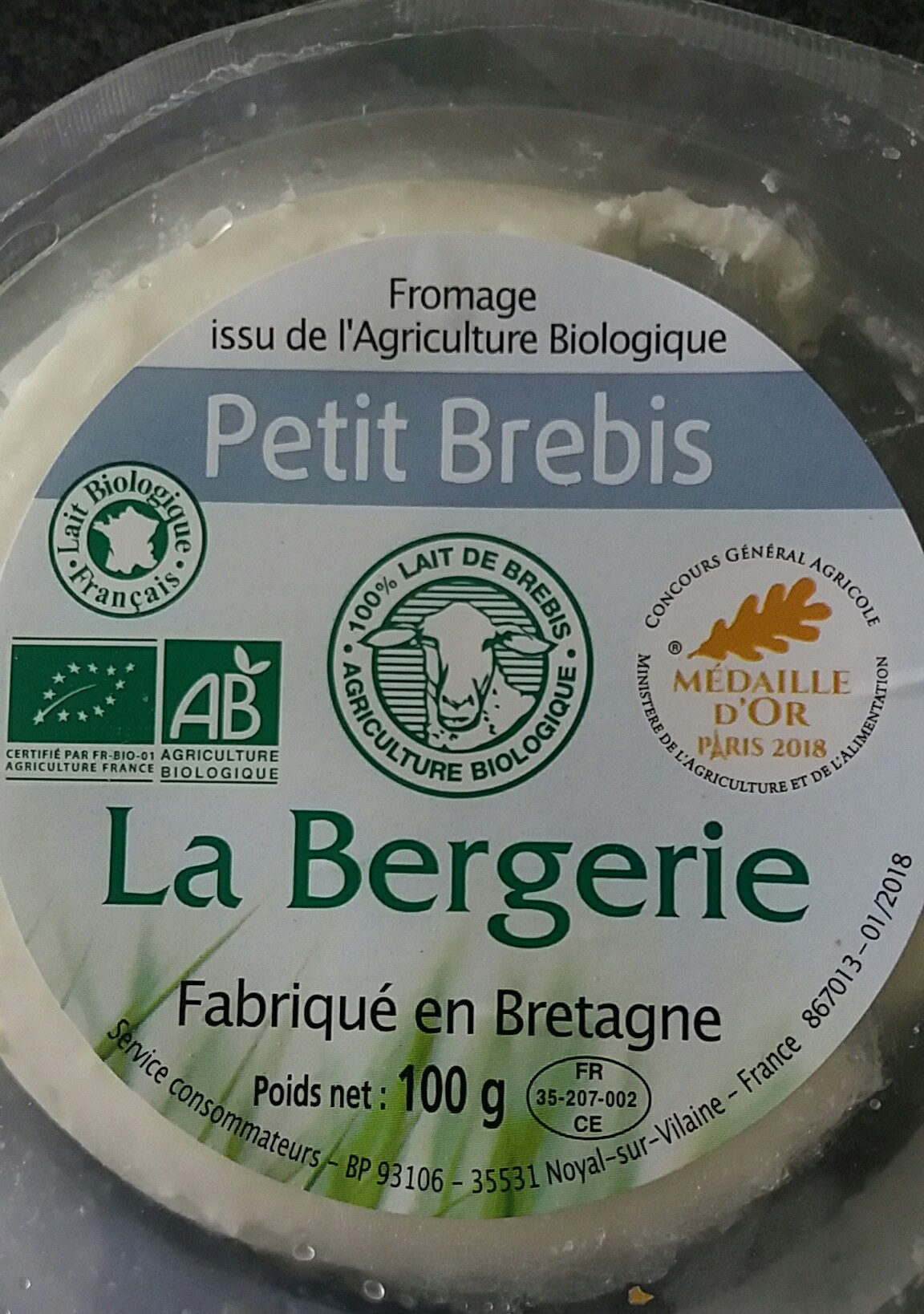 Fromage Petit Brebis - Product - fr