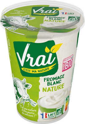Vrai Fromage blanc 500g - Product - fr