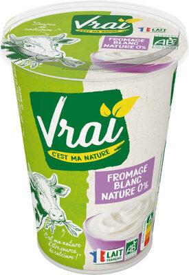 Fromage blanc nature 0% - Produit - fr