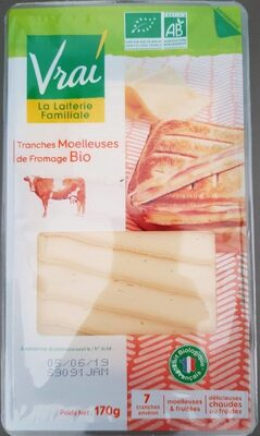Tranches moelleuses de fromage bio - Product - fr
