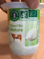 Yaourt Nature 1 / 2 écrémé Bio Vrai - Product
