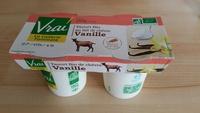 Yaourt bio au lait de chèvre Vanille - Produkt - fr