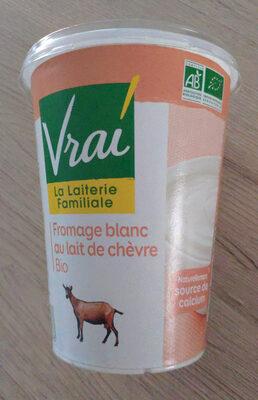 Fromage blanc biologique au lait de chèvre - Produit - fr