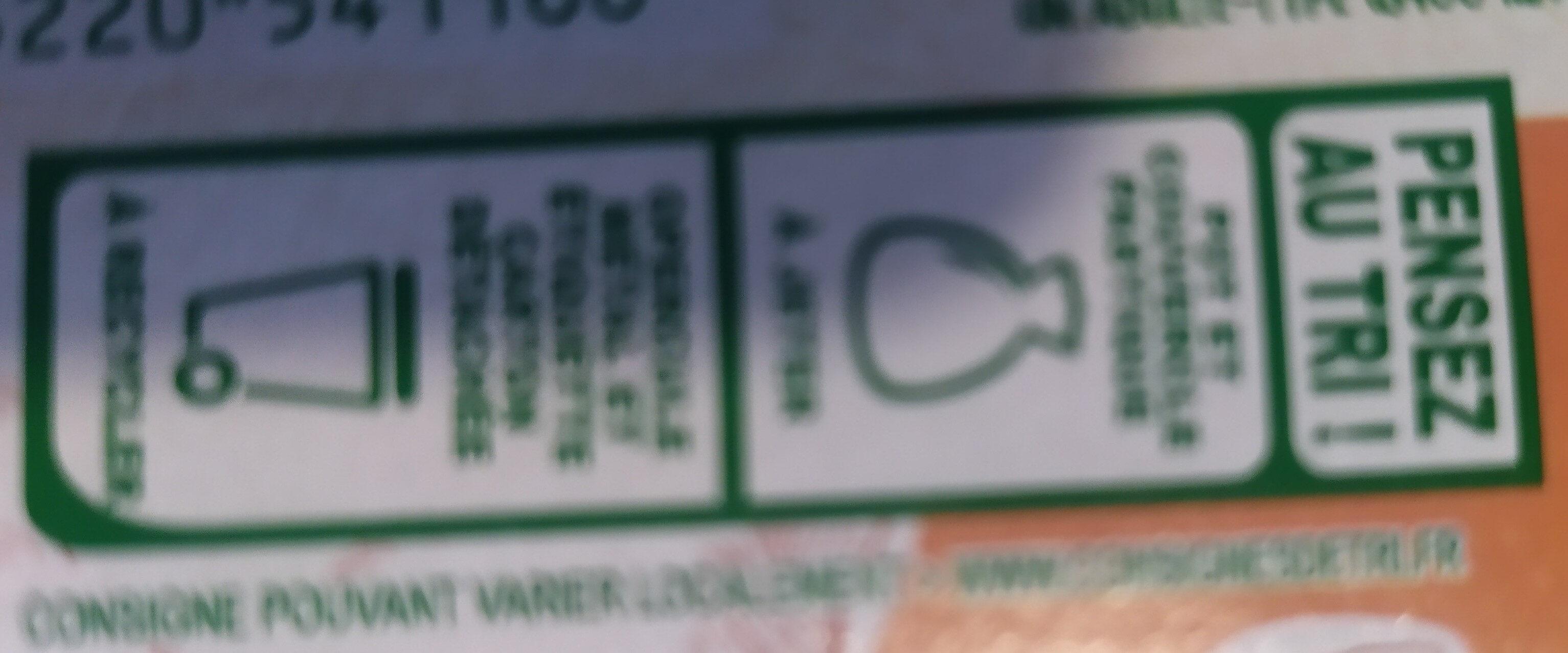 Fromage blanc biologique au lait de chèvre - Instruction de recyclage et/ou informations d'emballage - fr