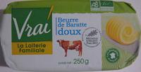 Beurre de baratte doux Bio Vrai - Product - fr