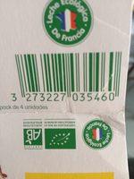 Bífidus sabor vainilla ecológico - Producto