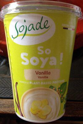 So Soya! Vanilla - Producte - fr