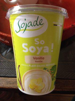 So Soya! Vanilla - Producto