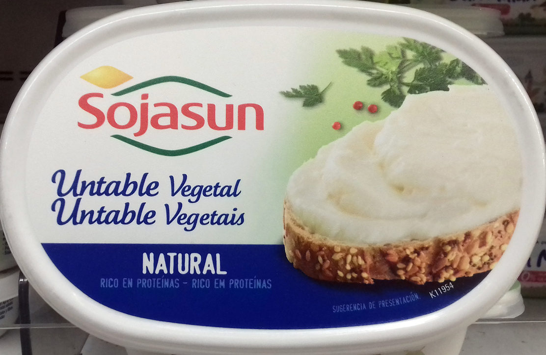 Untable Vegetal Natural - Producto