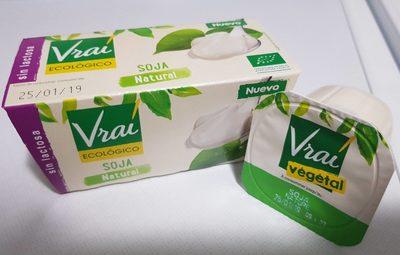 Yaourt nature au soja - Producto