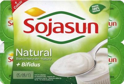 Postre de soja natural + bífidus - Producto
