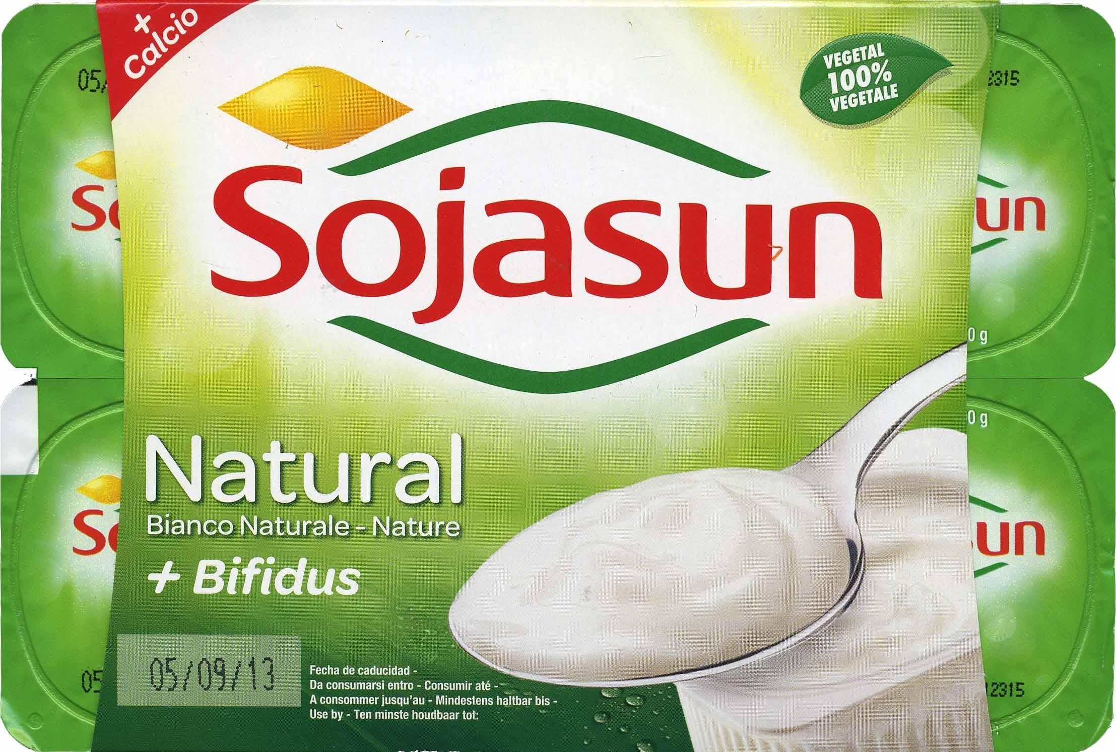 Postre de soja natural + bífidus - Producte