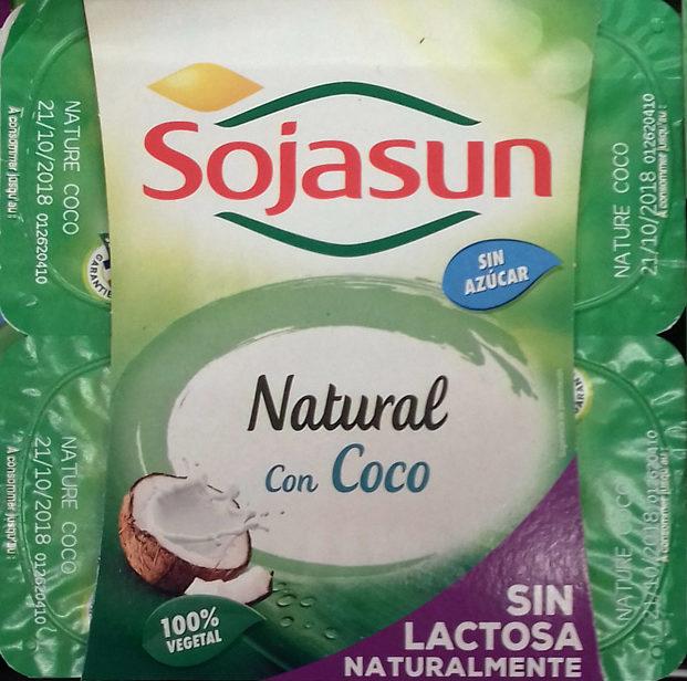Sojasun natural coco - Producte