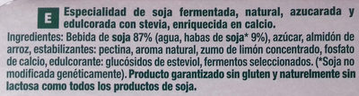 Soja fermentada - Ingredients