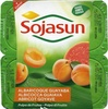 """Postre de soja """"Sojasun"""" Albaricoque y guayaba - Produit"""