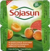 """Postre de soja """"Sojasun"""" Albaricoque y guayaba - Producto"""