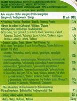 """Postre de soja """"Sojasun"""" Albaricoque y guayaba - Información nutricional"""