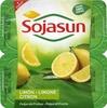 Especialidad vegetal de soja con pulpa de limón sin lactosa - Producto