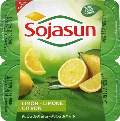 Postre de soja Limón - Producto - es
