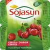 "Postre de soja ""Sojasun"" Cereza - Producte"