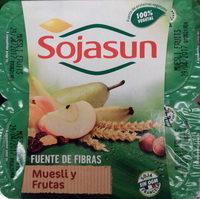Postre de soja Muesli y Frutas - Producto - es