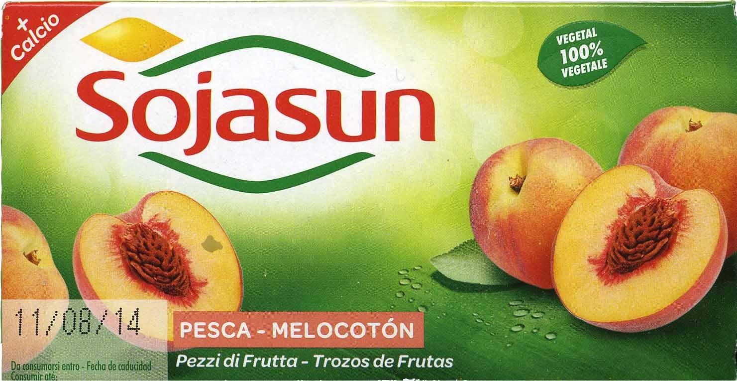 """Postre de soja """"Sojasun"""" Melocotón (2 Uds) - Producto - es"""