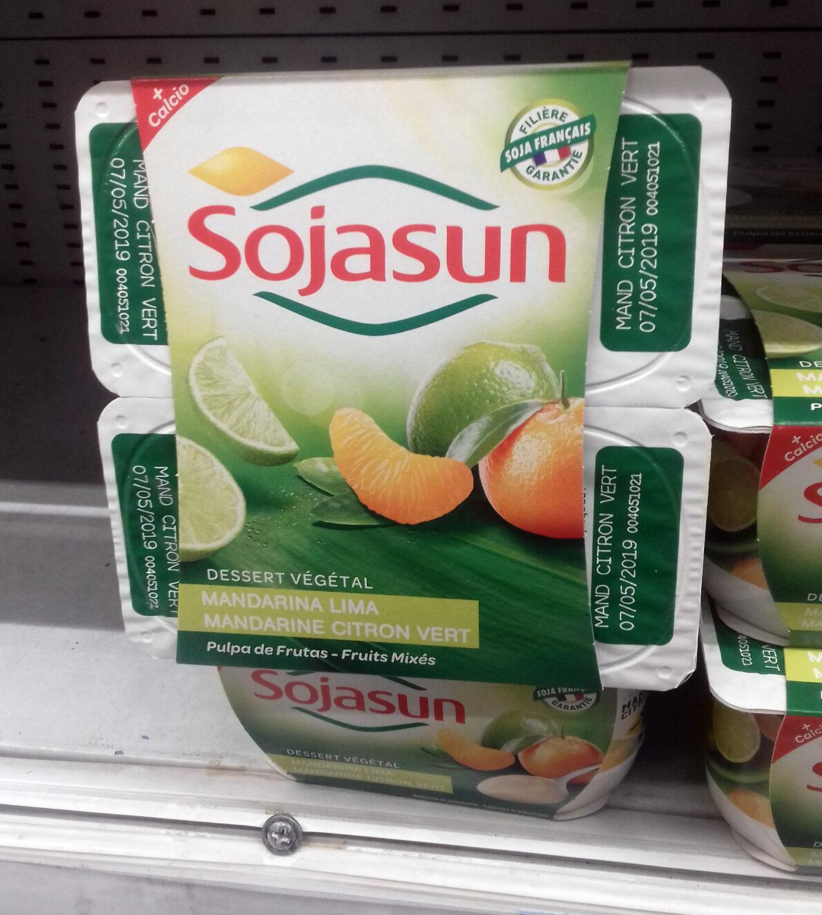 Dessert végétale mandarine citron vert - Producto - es