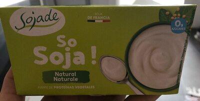 Dessert Di Soia Naturale Soya Natural Dessert - Producte